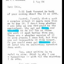 Regardie Letter 8