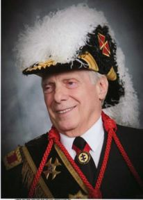 Chic Cicero in KT regalia. G.H. Imperator of the of the Hermetic Order of the Golden Dawn
